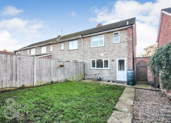 Thumbnail 3 bed end terrace house for sale in Garden Close, Bungay