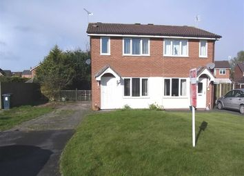 Thumbnail 2 bed semi-detached house to rent in 28, Aston Close, Oswestry, Oswestry, Shropshire