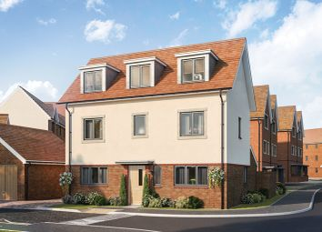 "Thumbnail 4 bed property for sale in ""Gosfield"" at Sheerlands Road, Arborfield, Reading"