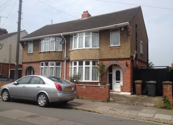 Thumbnail 3 bed semi-detached house to rent in Grantham Road, Luton, Beds