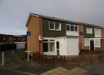 Thumbnail 2 bed end terrace house for sale in Fenby Avenue, Darlington, Co Durham