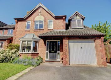 Thumbnail 4 bed detached house for sale in Scott Close, Claypole, Newark