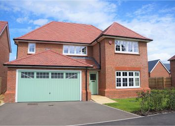 Thumbnail 4 bed detached house for sale in Biddestone Avenue, Swindon