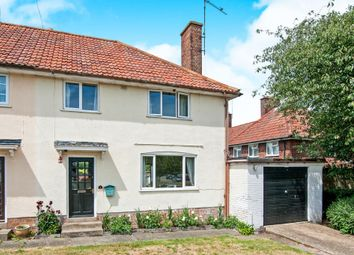 Thumbnail 3 bedroom semi-detached house for sale in Conway Road, Bury St. Edmunds