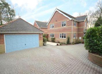Thumbnail 4 bed detached house for sale in Sandy Lane, Sandhurst, Berkshire