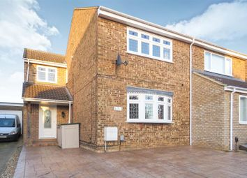 Thumbnail 3 bed semi-detached house for sale in Manor Close, Langford, Biggleswade