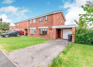 Thumbnail 2 bed semi-detached house for sale in Green Meadow Road, Coppice Farm, Willenhall, West Midlands