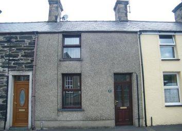 Thumbnail 3 bed terraced house for sale in School Street, Penrhyndeudraeth, Gwynedd