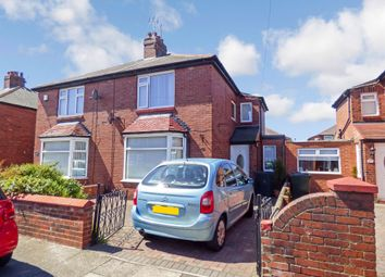 Thumbnail 3 bed semi-detached house for sale in Lynn Road, Wallsend