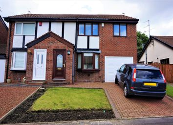 Thumbnail 3 bed semi-detached house for sale in Celandine Way, Gateshead