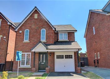 Thumbnail 4 bed detached house for sale in Sandfield Crescent, Whiston, Prescot