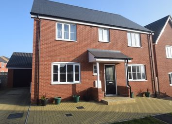 Thumbnail 4 bedroom detached house for sale in Sarah Rand Road, Hadleigh, Ipswich