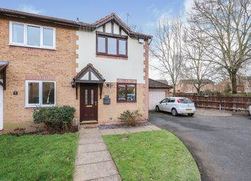 Thumbnail 2 bedroom end terrace house for sale in Pipit Court, Kidderminster