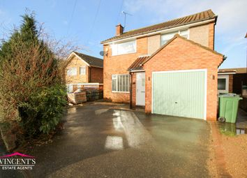 3 bed detached house for sale in Woodcote Road, Braunstone, Leicester LE3