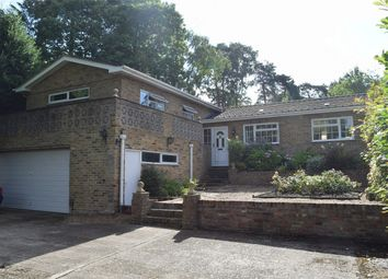 Thumbnail 4 bed detached bungalow for sale in Prior Road, Camberley, Surrey