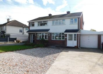 Thumbnail Semi-detached house for sale in Remer Street, Crewe