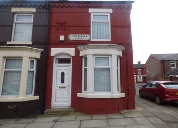 Thumbnail 2 bed end terrace house to rent in Twickenham Street, Anfield, Liverpool