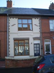 Thumbnail 3 bed terraced house to rent in Crescent Road, Hugglescote, Hugglescote, Coalville