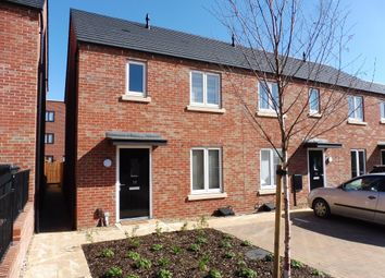 Thumbnail 2 bedroom semi-detached house for sale in Hever Close, Marina Park, Northampton