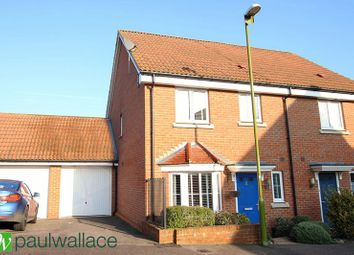 Thumbnail 3 bedroom end terrace house to rent in Aldermere Avenue, Cheshunt, Waltham Cross