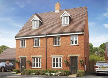 Thumbnail 3 bed semi-detached house for sale in Summerlin Drive, Woburn Sands, Milton Keynes