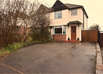 Thumbnail 3 bed semi-detached house for sale in North Street, Maidstone