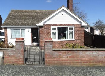 Thumbnail 2 bed bungalow to rent in Manor Gardens, Stanground, Peterborough