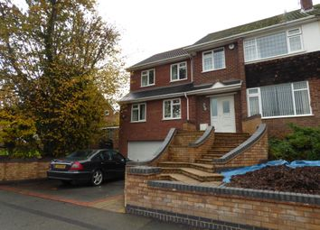 Thumbnail 5 bed semi-detached house to rent in Unicorn Avenue, Eastern Green, Coventry
