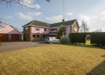 Thumbnail 5 bedroom detached house for sale in Burthorpe Green, Barrow, Bury St. Edmunds