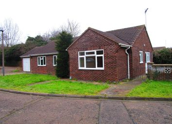 Thumbnail 3 bed detached bungalow for sale in Danes Close, Peterborough