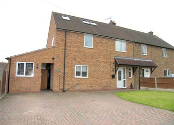 Thumbnail 3 bed semi-detached house for sale in Elmtree Avenue, Shirland, Alfreton