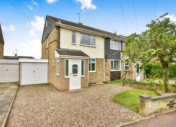 Thumbnail 3 bed semi-detached house for sale in Lodore Avenue, Hellesdon, Norwich