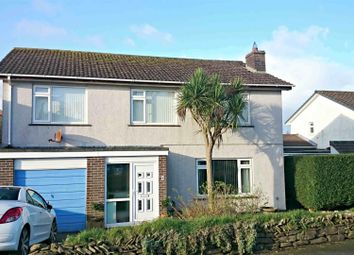 Thumbnail 4 bed detached house for sale in Clemens Close, Tretherras, Newquay