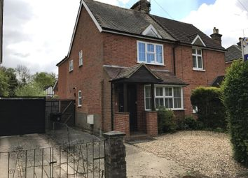 Thumbnail 3 bed semi-detached house to rent in Egley Road, Woking