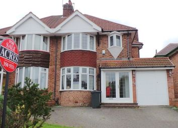 Thumbnail 3 bed semi-detached house for sale in Berwood Farm Road, Sutton Coldfield
