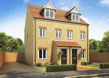 "Thumbnail 3 bed semi-detached house for sale in ""Souter"" at Villa Road, Stanway, Colchester"