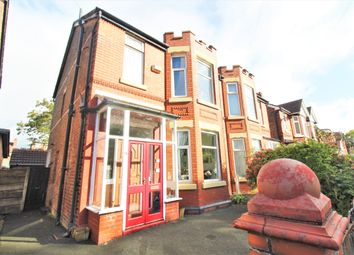 Thumbnail 3 bed semi-detached bungalow for sale in Lytham Road, Burnage, Manchester