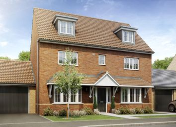 "Thumbnail 4 bed terraced house for sale in ""Woodbridge"" at Hyde Road, Upper Stratton, Swindon"