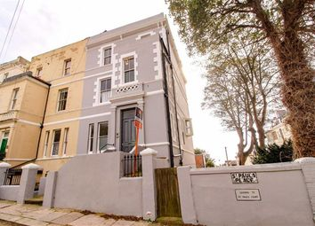 Thumbnail 3 bed flat for sale in St Pauls Place, St Leonards-On-Sea, East Sussex
