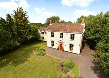 Thumbnail 6 bed detached house for sale in Old Coach Road, Lower Weare, Axbridge, Somerset