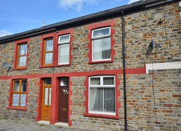 Thumbnail 3 bed terraced house for sale in Ilan Road, Abertridwr, Caerphilly