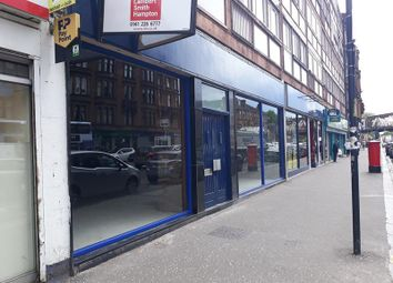 Thumbnail Retail premises to let in 1600 Great Western Road, Glasgow