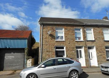 Thumbnail 3 bed end terrace house for sale in Penrhiwfer Road, Tonyrefail