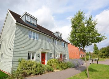 Thumbnail 4 bedroom semi-detached house for sale in Saffron Way, Dunmow, Essex