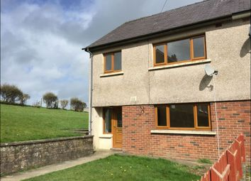 Thumbnail 3 bed end terrace house to rent in Parc Yr Hydd, Ciliau Aeron