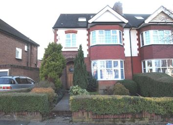 Thumbnail 4 bed semi-detached house to rent in Cissbury Ring North, Woodside Park, London