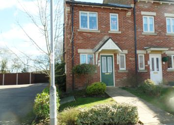 Thumbnail 2 bedroom end terrace house for sale in Butterbur Drive, Goole