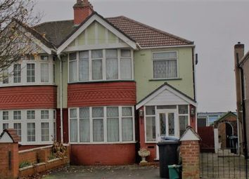 Thumbnail 4 bed terraced house to rent in Rydal Crescent, Perivale, Uxbridge