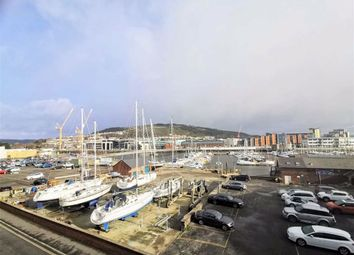 Thumbnail 2 bed flat for sale in Cork House, Mannheim Quay, Marina, Swansea