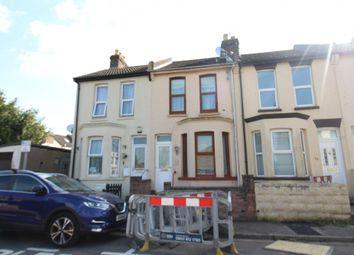 Thumbnail 3 bed terraced house for sale in Regent Road, Gillingham, Kent